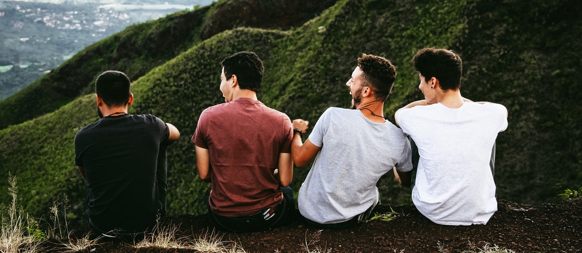 Guys on the mountain